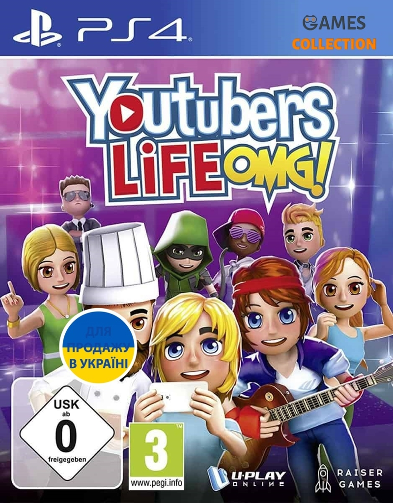 Youtubers Life OMG!(PS4)-thumb