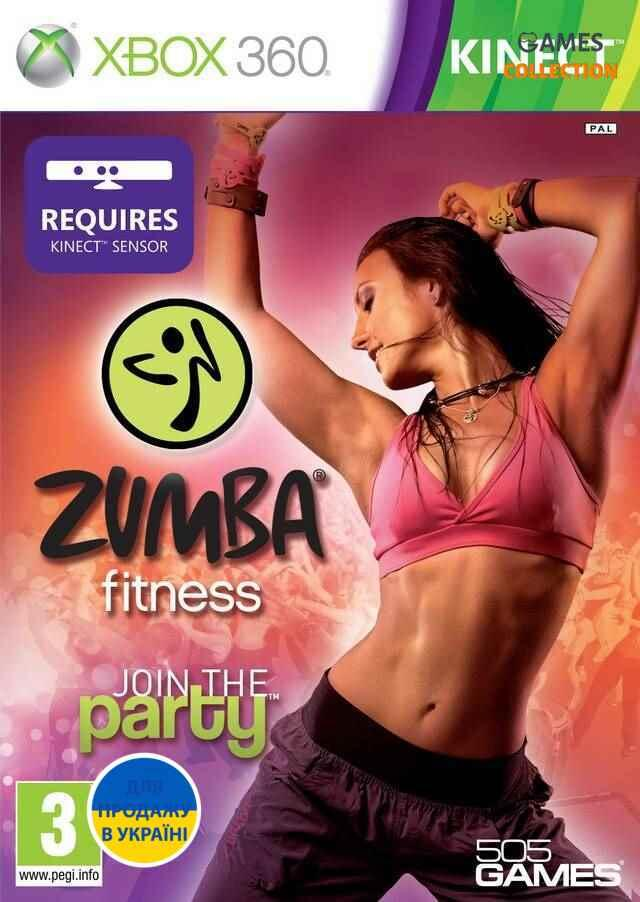 Zumba Fitness: Join the Party(XBOX360)-thumb