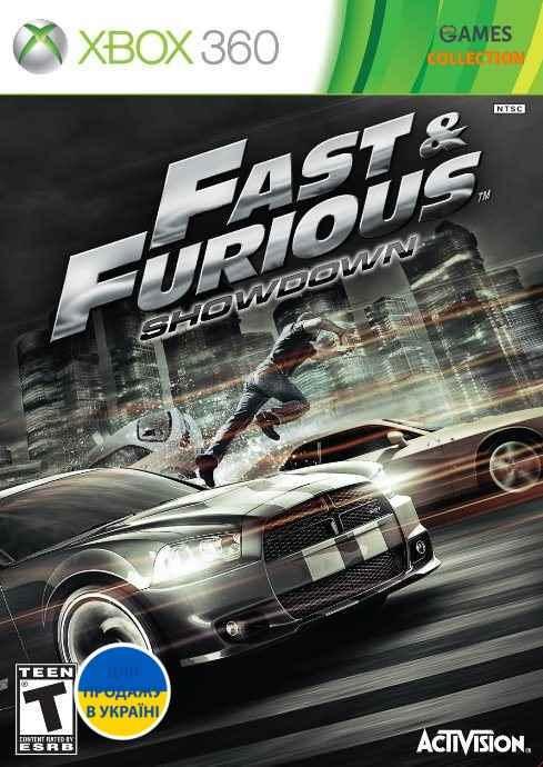 Fast And Furious: Showdown (XBOX360) Б/у-thumb