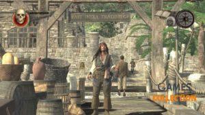 Пираты Карибского Моря: На краю света (PS3) – очередная часть игровой серии, вдохновленной одним из самых популярных пиратов, а именно легендарным капитаном Джеком Воробьем, которого в оригинальном кинофильме изобразил Джонни Депп. Помимо него, игроки неоднократно получают возможность взять на себя роли как Уильяма Тернера, так и Элизабет Суонн. Сюжет: Сюжет Pirates of the Caribbean: At World's End (Play Station 3) был основан на событиях, изображенных во второй и третьей частях серии кинофильмов. Естественно, разработчики включили в сценарий некоторые из самых знаковых сцен из фильмов, например ту, где Джек Воробей сражается с огромным существом – Кракеном, в результате чего тонет Черная жемчужина, любимый корабль Джека. Во время прохождения игры игроки могут посетить места, известные из фильмов, например, Тортуга, Исла Крусес (остров, на котором было похоронено сердце Дэви Джонса) и джунгли, населенные племенем каннибалов. Механика: Подобно другим частям серии игр Pirates of the Caribbean (ПС3) , человек сталкивается с множеством врагов, с которыми нужно немедленно разобраться, серией ловушек, подзапросов и мини-игр (например, покер, кости и т. д.) а также интерактивные ролики с быстрым временем событий. Есть некоторые предопределенные моменты во время прохождения, где можно выбрать, чтобы управлять другими персонажами, такими как Джек Воробей, Уилл, Элизабет и капитан Барбосса. Больше информации: Помимо этого, можно разблокировать игровых персонажей, что может привести к некоторым забавным ситуациям. Например, в Пираты Карибского Моря (Плейстейшн 3) 2 идентичных персонажа появляются на экране одновременно. Что также стоит упомянуть, все доступные протагонисты обладают уникальными навыками, специальными атаками и завершающими ударами. Для усиления атаки на противника можно использовать ранее найденные предметы, такие как пистолет и бомбы. Лицензированный саундтрек к фильму сопровождает игрока на протяжении всей игры.